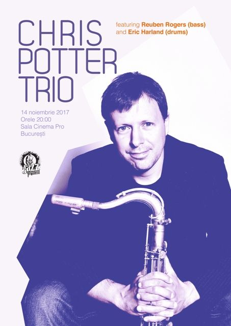 Chris Potter Trio la CinemaPro