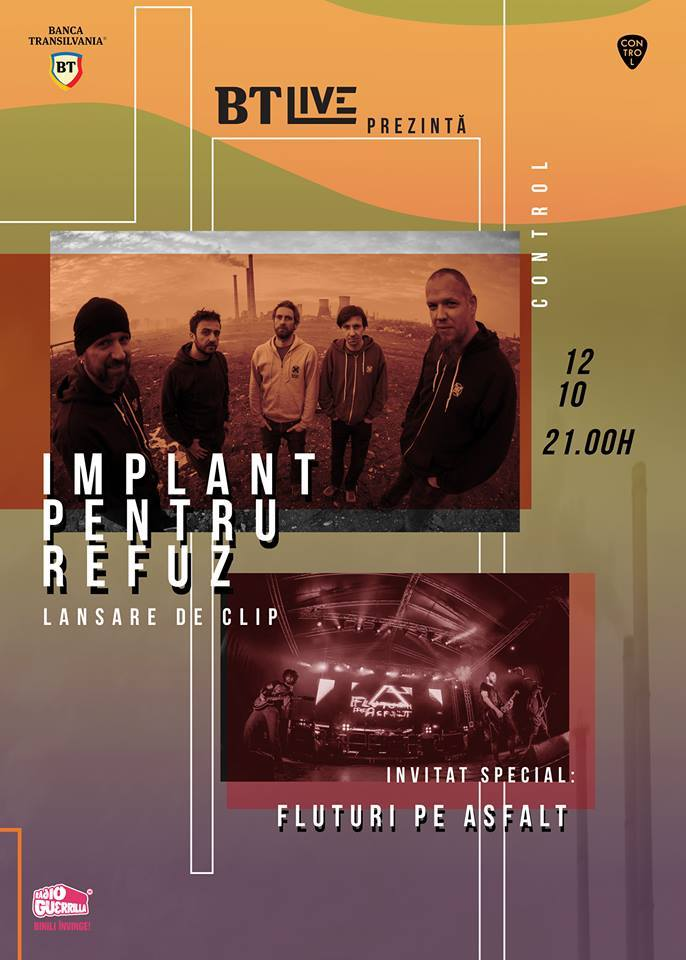 BTLive: Implant pentru refuz la Club Control