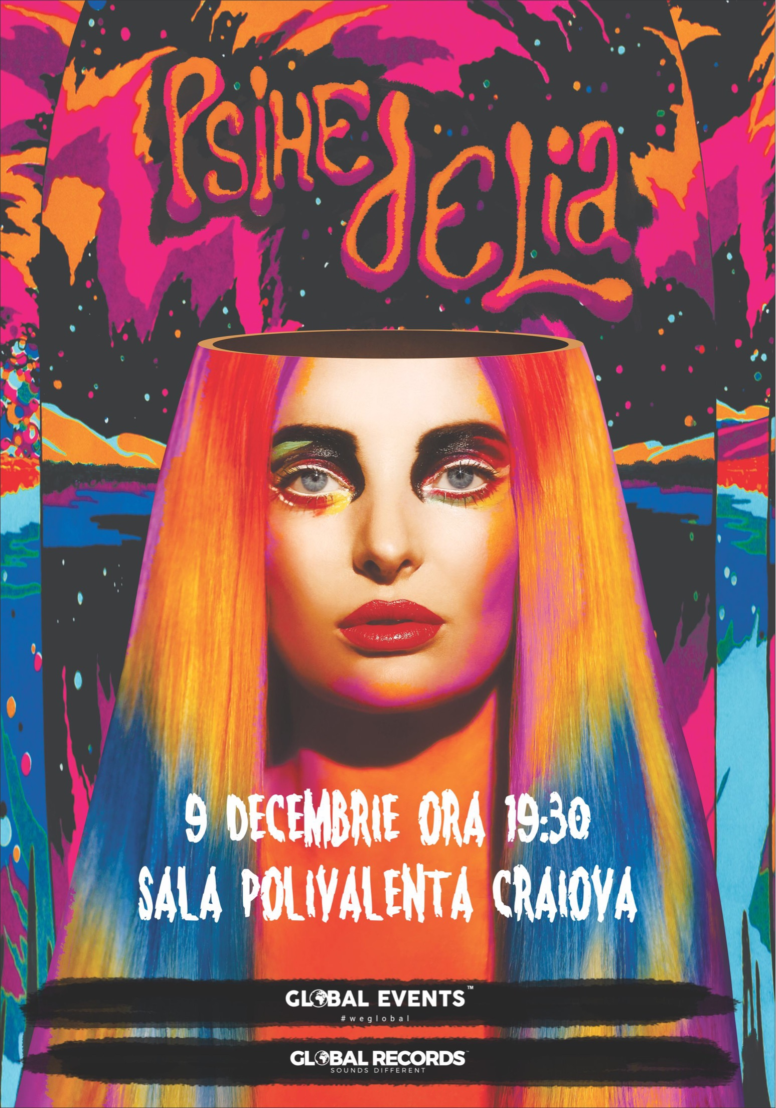 Delia - Psihedelia la Sala Polivalentă Craiova