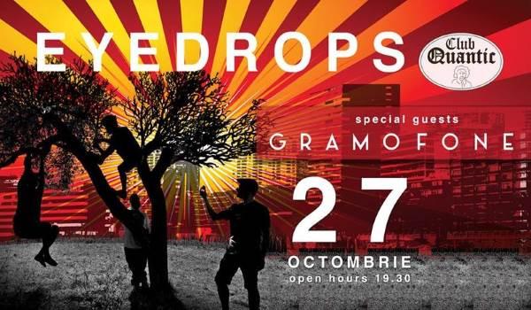 Eyedrops & Gramofone la Quantic Club