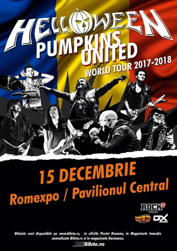 Helloween - Pumpkins United la Romexpo