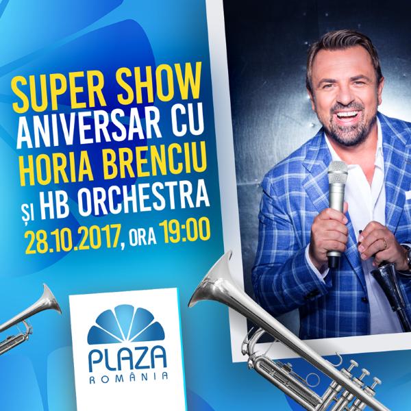 Horia Brenciu & HB Orchestra la Plaza Romania București