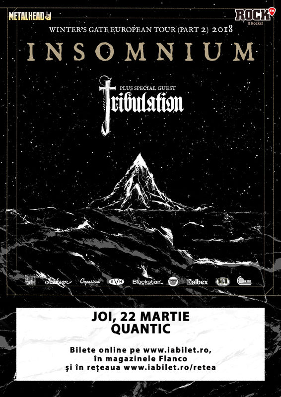 Insomnium / Tribulation la Quantic Club