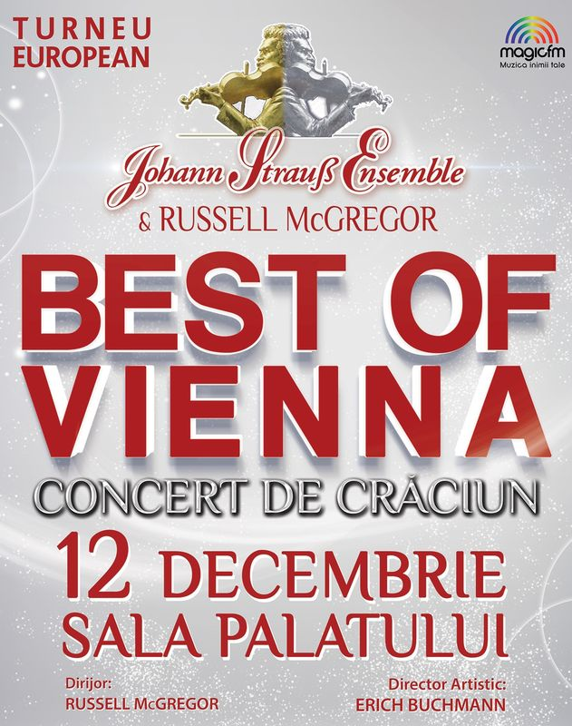 Johann Strauss Ensemble - Best of Vienna la Sala Palatului