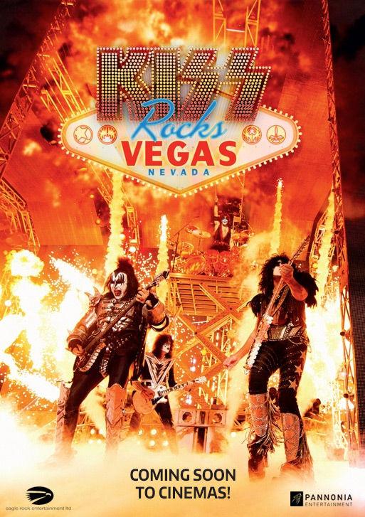 KISS Rocks Vegas la Happy Cinema