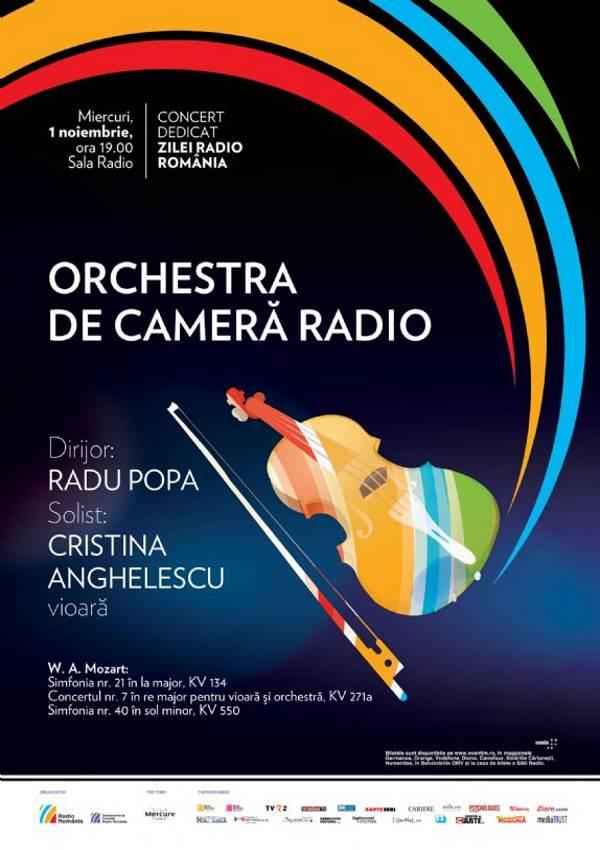 Orchestra de Cameră Radio la Sala Radio