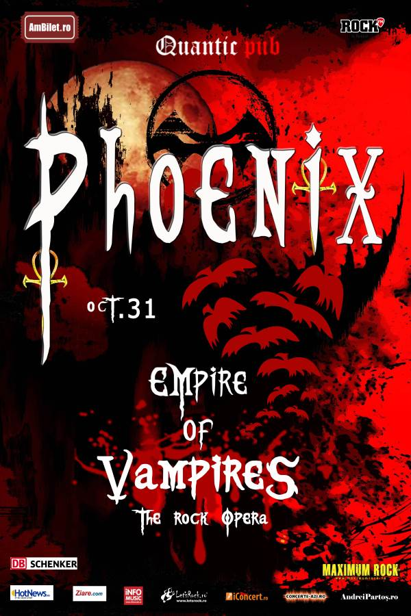 Phoenix - Empire of Vampires la Quantic Club