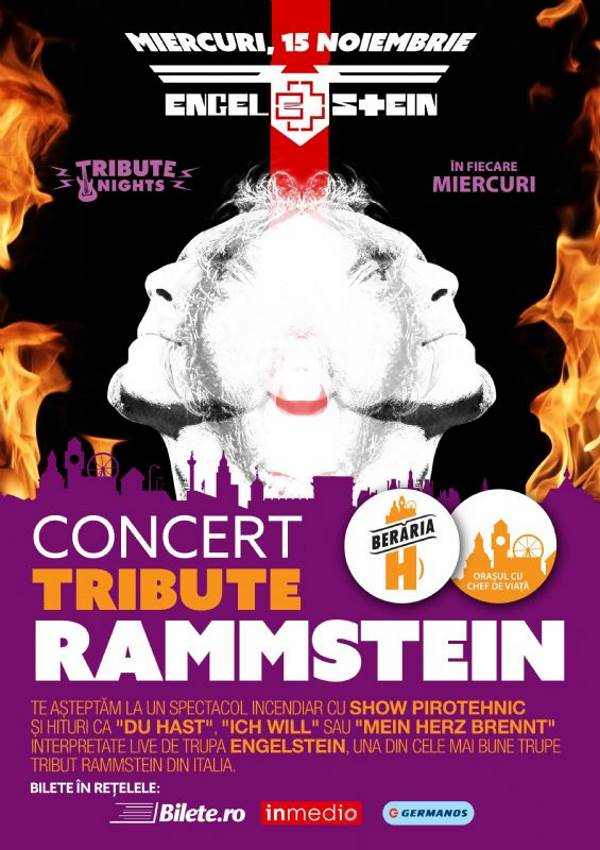Rammestein Tribute la Berăria H