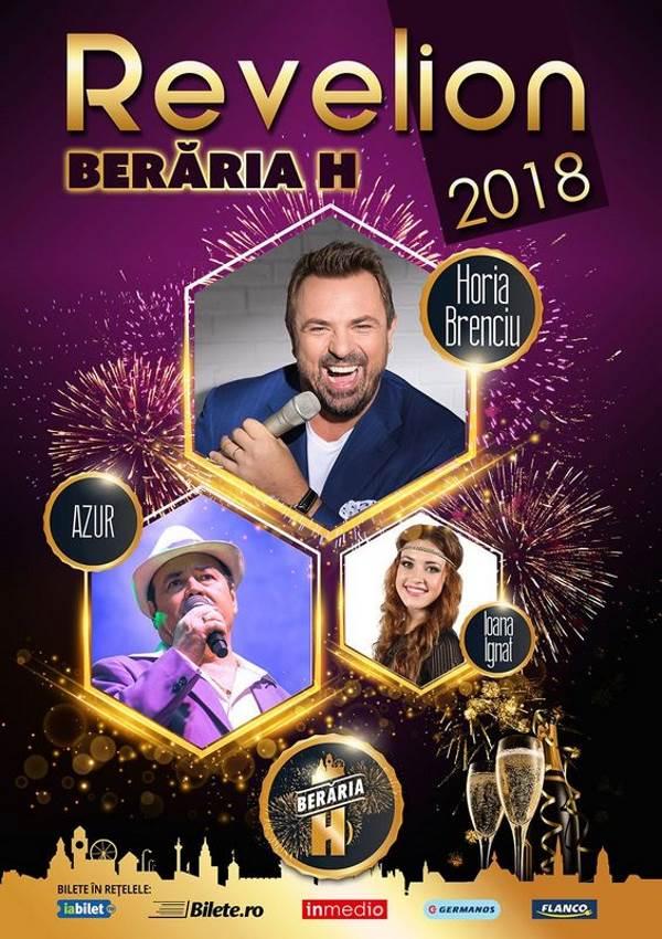 Revelion 2018 la Berăria H