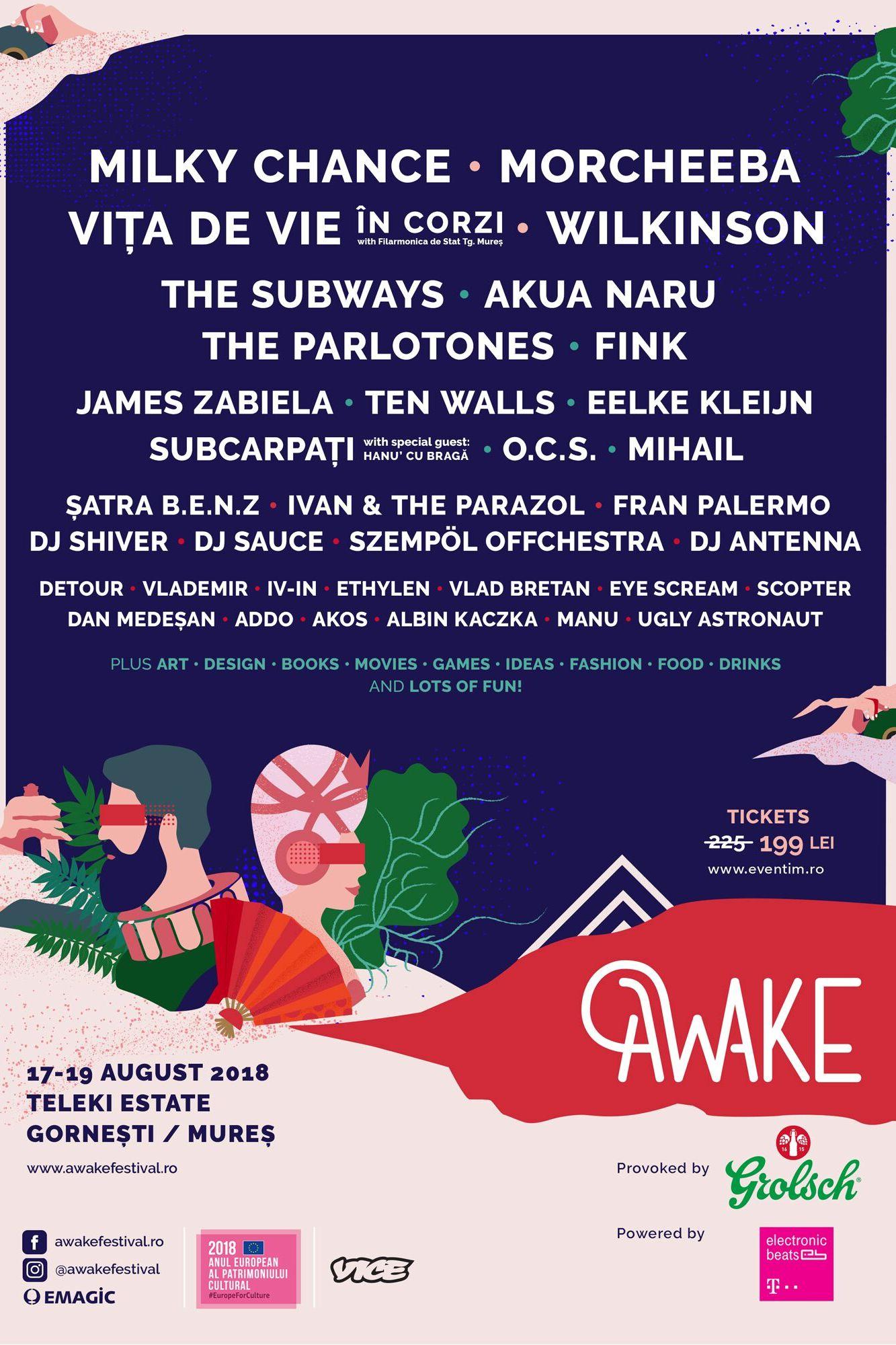 AWAKE Festival 2018 la Domeniul Teleki