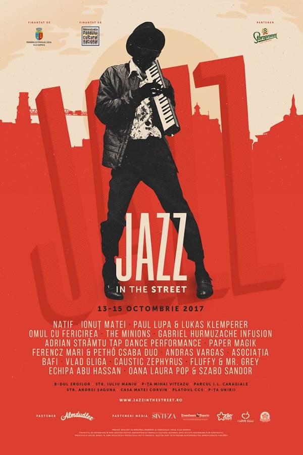 Jazz in the Street 2017 la Piața Unirii din Cluj