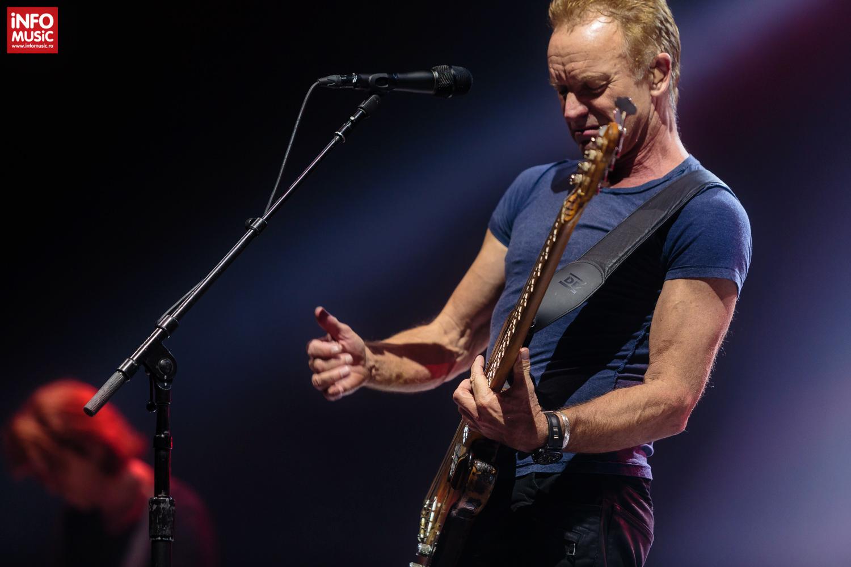 Sting în concert la Cluj-Napoca pe 17 octombrie 2017