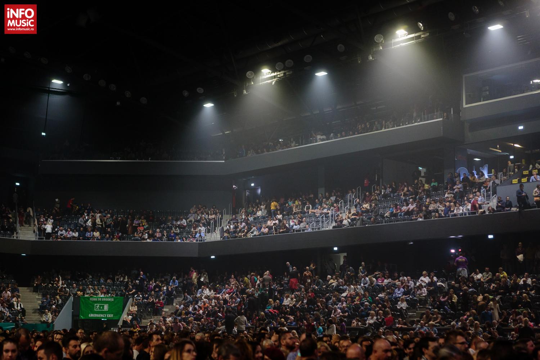 Publicul la concertul Sting de la Cluj-Napoca (2017)