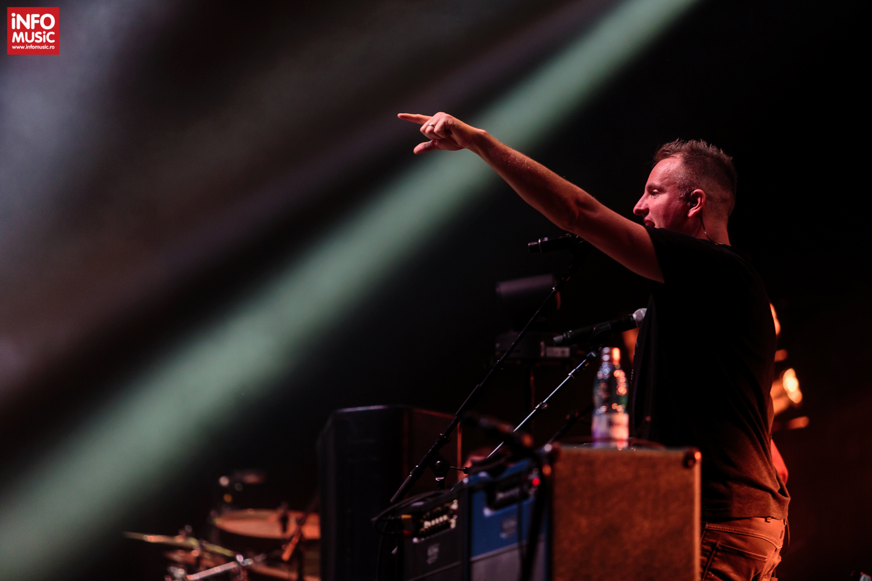 Joe Sumner în deschiderea concertului Sting de la Cluj-Napoca (2017)