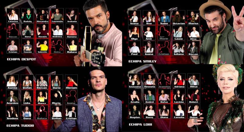 Primele dueluri la Vocea Romaniei - Sezonul #7