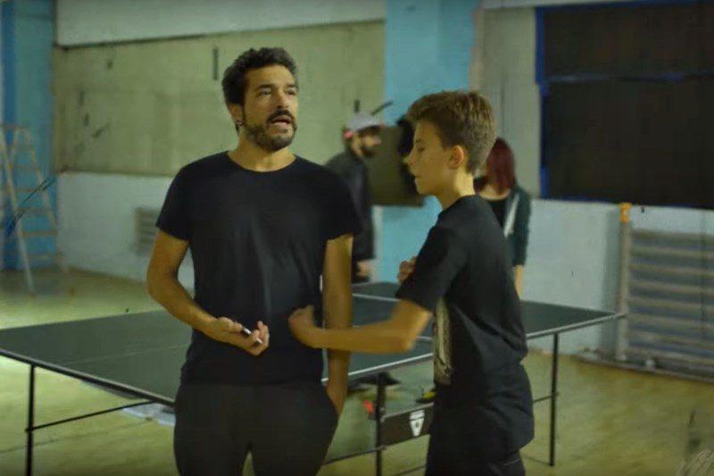 """Adrian Despot la filmările noului videoclip """"Dur de-a dura"""""""