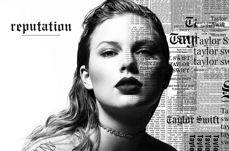 Coperta album Taylor Swift Reputation