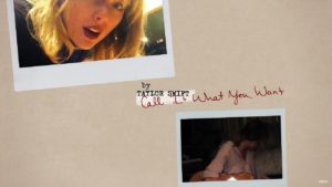 Lyric Video Taylor Swift Call It What You Want