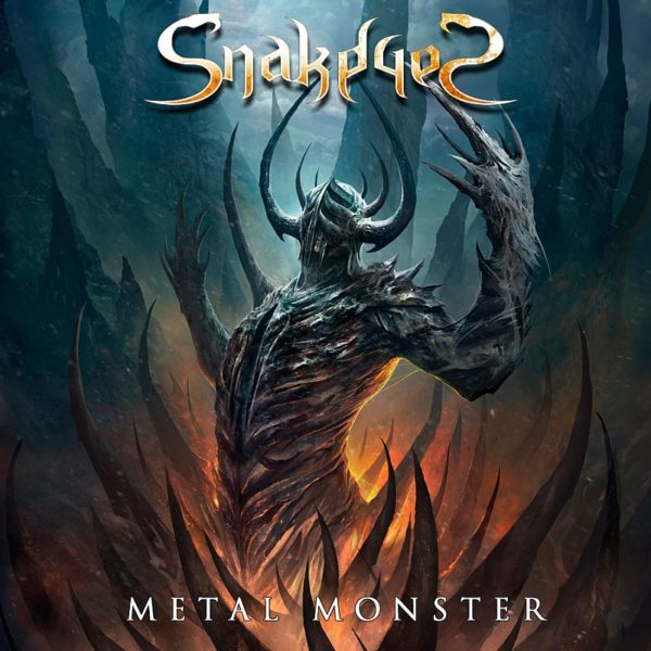 SnakeyeS Metal Monster coperta album