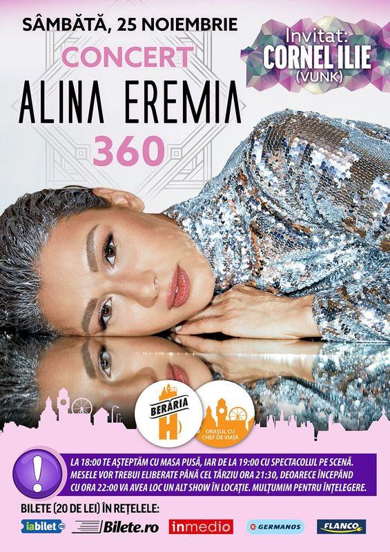 Alina Eremia la Berăria H