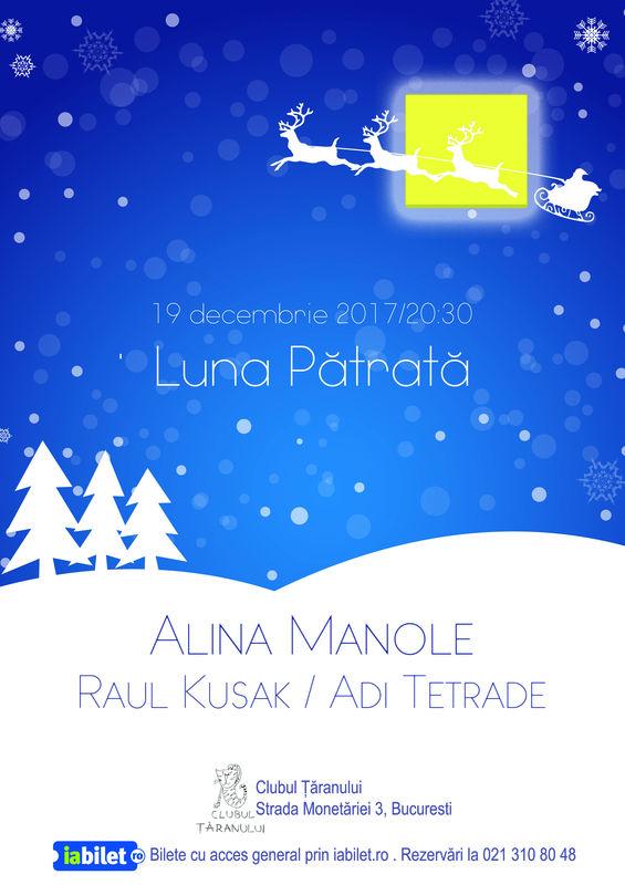 Alina Manole la Clubul Țăranului Român