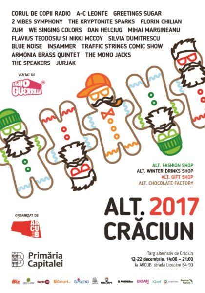Poster eveniment ALT. Crăciun 2017