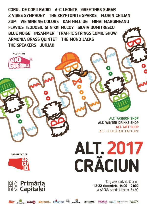 ALT. Crăciun 2017 la ARCUB - Sala Mare (Hanul Gabroveni)