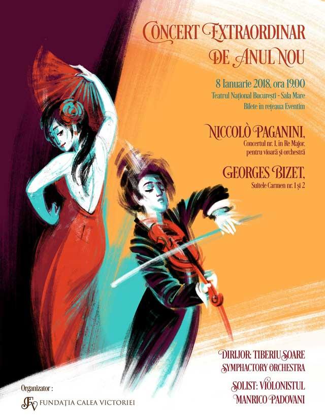 Concertul Extraordinar de Anul Nou la Teatrul Naţional București