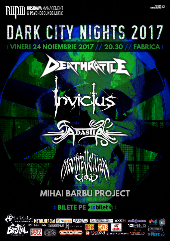 Dark City Nights 2017 la Fabrica