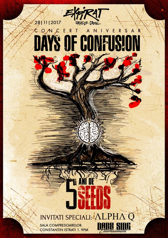 Days of Confusion la Expirat Club