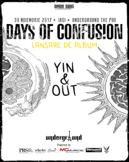 Days of Confusion la Underground Pub