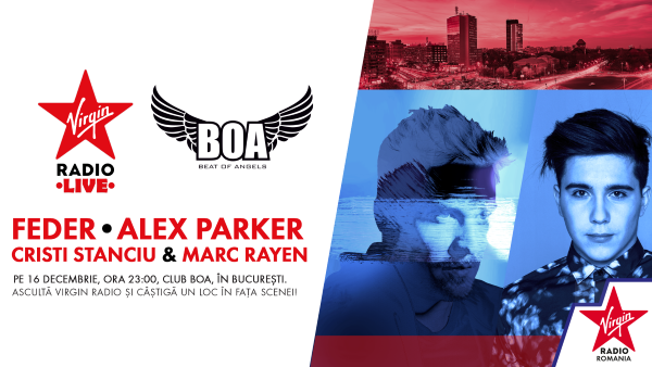 FEDER / Alex Parker / Virgin Sessions la Club Boa