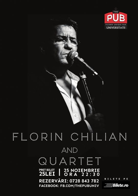 Florin Chilian & Quartet la The Pub - Universității
