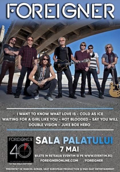 Poster eveniment Foreigner
