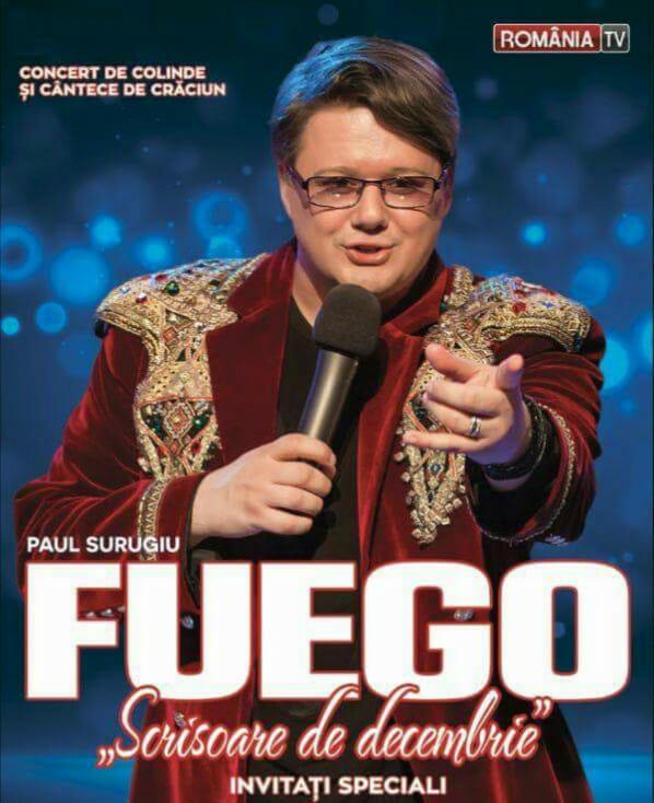 Fuego - Scrisoare de Decembrie la Teatrul Național Marin Sorescu
