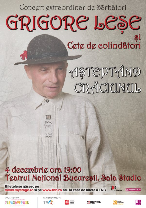 Grigore Leșe - Așteptând Crăciunul la Teatrul Naţional București