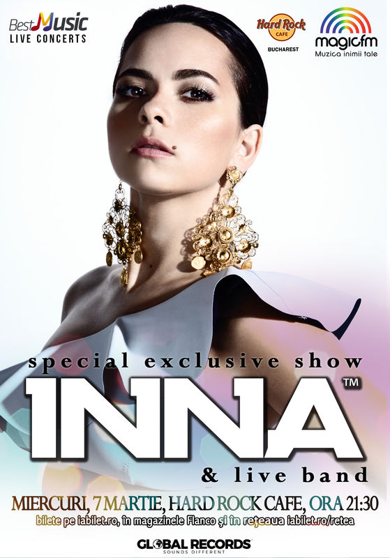 INNA la Hard Rock Cafe