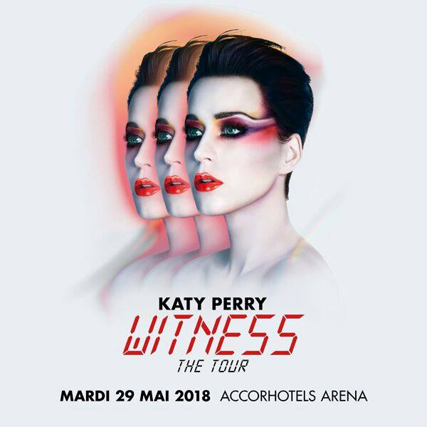 Katy Perry la AccorHotels Arena (Paris)