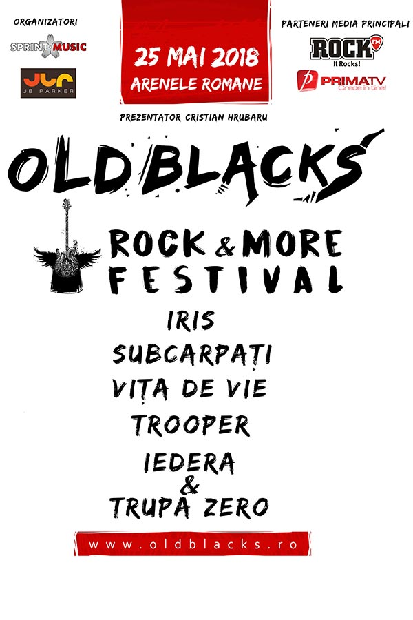 Old Blacks Rock & More Festival la Arenele Romane