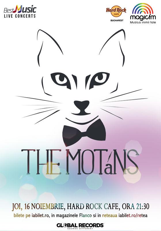 The Motans la Hard Rock Cafe