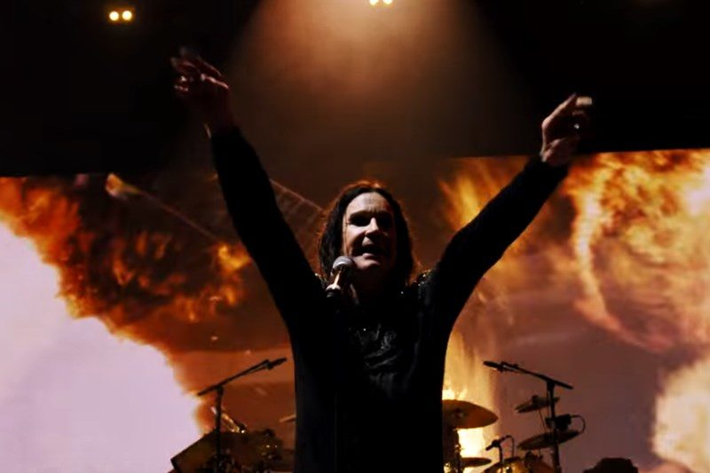 Black Sabbath Live în cadrul turneului The End