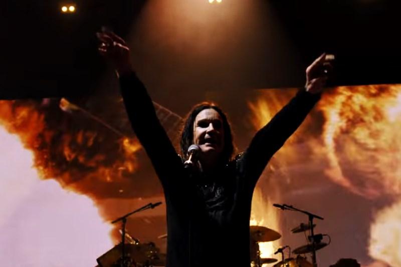 Black Sabbath Live în cadrul turneului The End