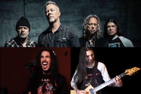 Anthony Vincent și Eric Calderone cântă 10 piese în stil Metallica