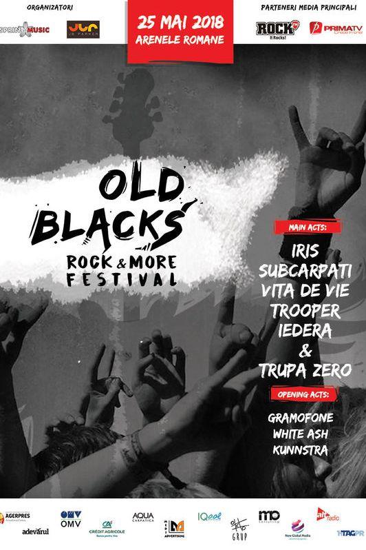 Old Blacks Rock & More Festival la Arenele Romane