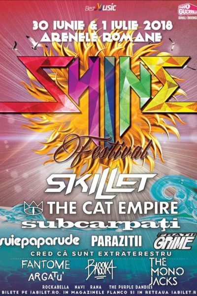 Poster eveniment Shine Festival 2018