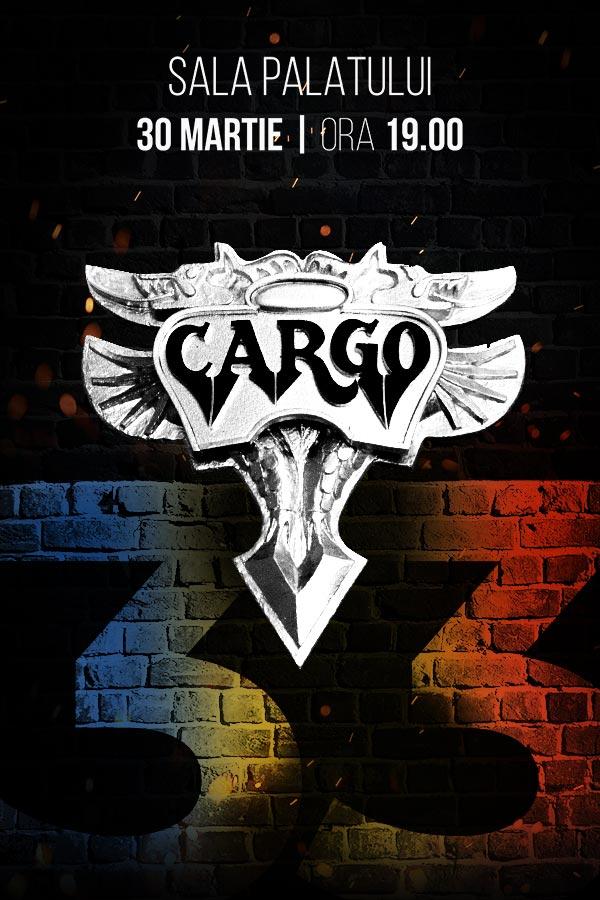 Cargo - concert aniversar la Sala Palatului