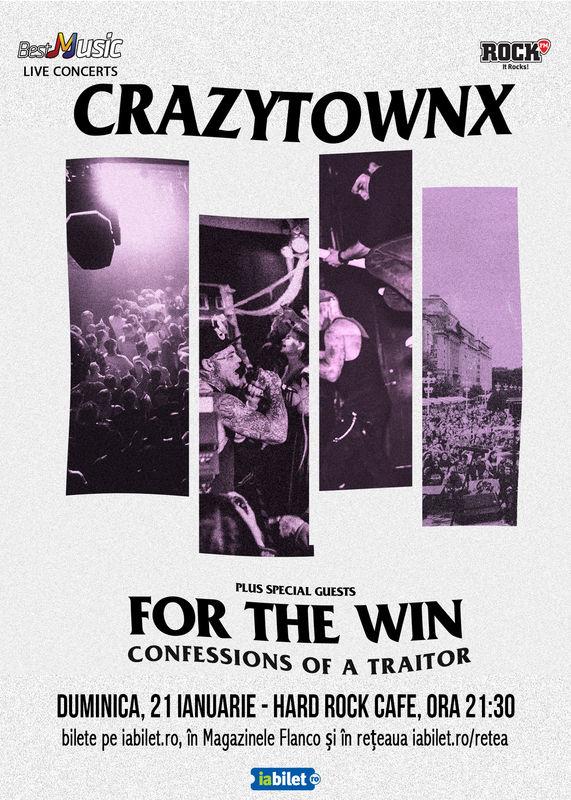 Crazy Town la Hard Rock Cafe