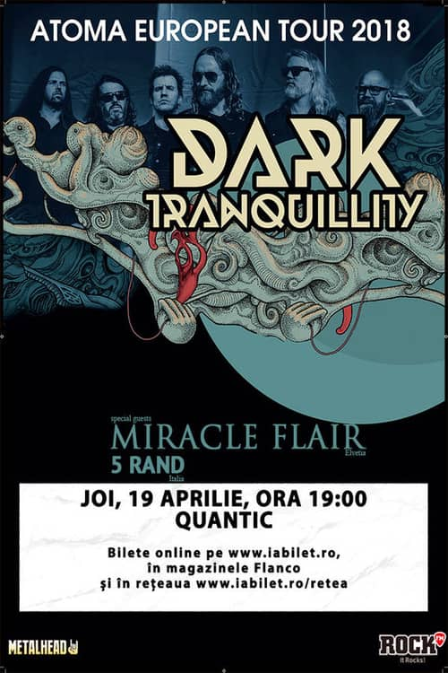 Dark Tranquillity la Quantic Club