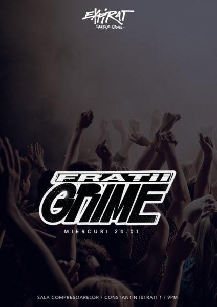 Poster eveniment Frații Grime