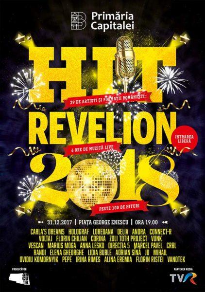 Poster eveniment Hit Revelion 2018